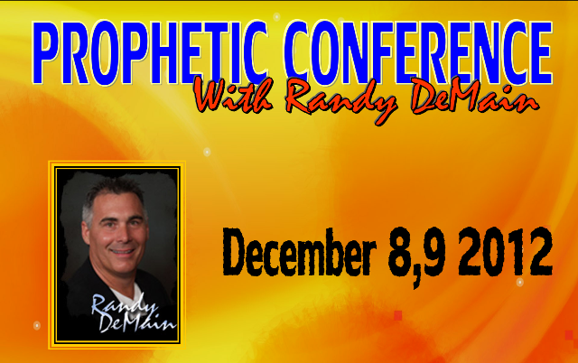 Prophetic conference with Randy DeMain 2012 / Пророческая Конференция с Ренди Димейном 2012