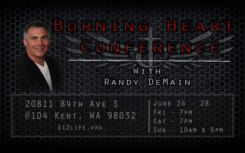 Конференция / Burning Heart Conference with Randy DeMain (June 26-28, 2015)
