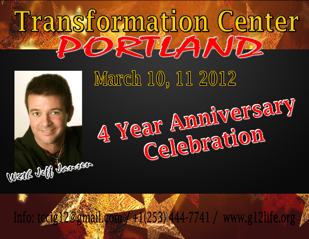 Conference TCCI Portland 4 Year Anniversary Celebration with Jeff Jansen