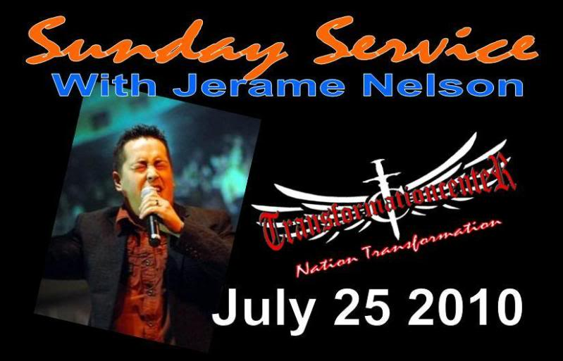 Sunday Servise with Jerame Nelson (July 25 2010)