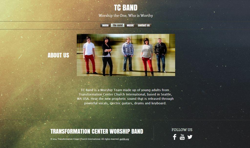 New Official TC Band Website / Новый официальный сайт TC Band. http://www.tc-band.com/